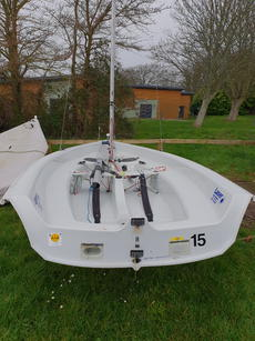 Laser 2000 Dinghy sail Number 22191