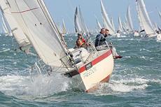 Fun, fast cruiser racer sail boat