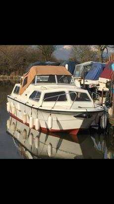 20' Norman Conquest with 15hp Yamaha