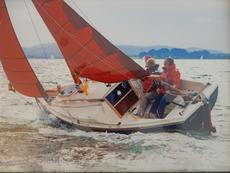 Cornish Shrimper 19 Outboard 2012