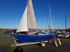 Shetland Skiff on trailer