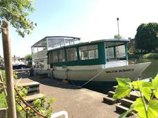 60ft Houseboat with Residential London Mooring - Hampton Court