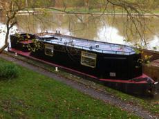 Ex British Waterways Tug Boat
