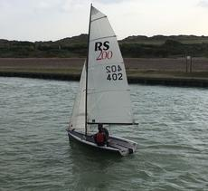 RS 200 sail number 402
