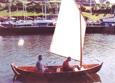 Shearwater 16foot boat Sailing rowing,