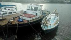 Ex army workboat