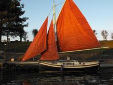 Falmouth Oystercatcher, Gaff Cutter