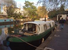35ft narrowboat, London