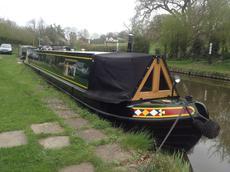60' trad Stephen Goldsborough narrowboat,4+2, JD3,thruster, Shrops.Un.