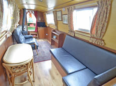 PICKLE 56ft 10in trad narrowboat with 3 berths