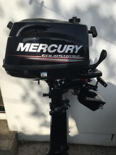 New Nov 2018 Mercury 6hp Long Shaft.