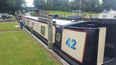 Beautiful 57ft Narrowboat, moored London ****SOLD****