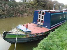 60ft Liveaboard Electric Narrowboat - Muse