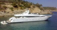 Maiora 38m 2005 in Greece.