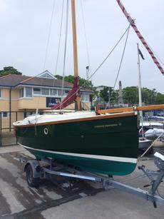 Cornish Shrimper #750 with trailer