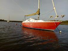 24ft fin keeled quarter ton off shore