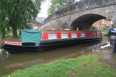 Tamiley - 46 foot traditional stern narrowboat with SURVEY