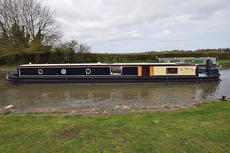 Stunning 65ft reverse style cruiser 2005 Reeves / Prestige Narrowboats