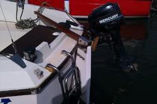 8HP 2 stroke Mercury long shaft outboard