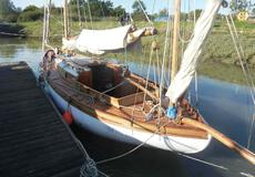 26ft. VINTAGE GAFF YAWL - Professionally re-built - Absolute Gem