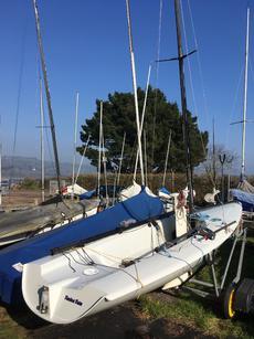 K1 racing dinghy