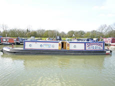 STURGEON 41ft 8in tug style narrowboat with Boatman's cabin