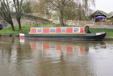 Alchemy - 40 foot cruiser stern narrow boat