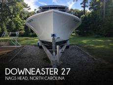 1989 Downeaster 27