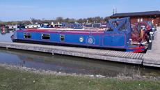 50' Trad stern narrowboat.