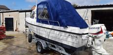 Orkney - 590TT with a brand new Evinrude
