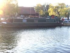 """45"""" Narrowboat Project *London mooring*"""