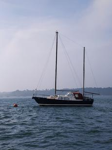 Steel Dutch Sailboat