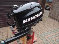 Mercury 4hp Fourstroke Outboard