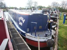 58 Ft Traditional stern Narrowboat Built by Liverpool Boats in 2001