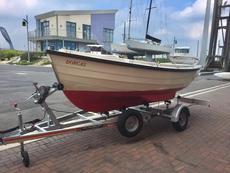 "Dorcas, a 14'6"" Post Boat, Built 2012, Sail number 155"