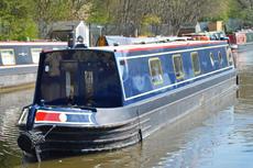 58ft Semi-Trad Stern Narrowboat