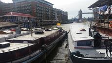 Temporary Mooring Central London