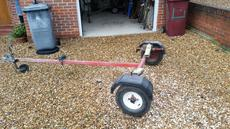 Dinghy road trailer - suitable for 14ft