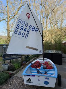 Optimist 5948 -ex Zone Squad Boat