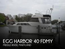 1982 Egg Harbor 40 FDMY