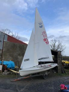 470 Dinghy ; Sail number 59