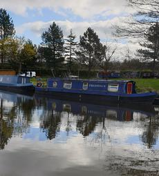 43 feet well maintained Narrowboat
