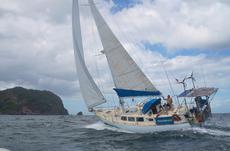 Bruce Roberts 45 sailing sloop