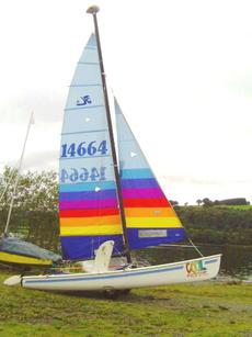 Hobie Tiger 18' with trailer Brighton