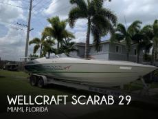 1998 Wellcraft Scarab 29