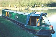 53ft Narrowboat with March 2019 Survey