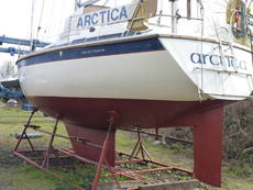 Westerly Corsair MkII ready for sea