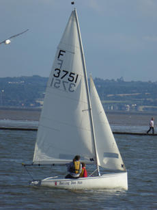 Firefly sailing dinghy sail number 3751