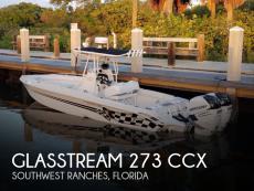 2005 Glasstream 273 CCX