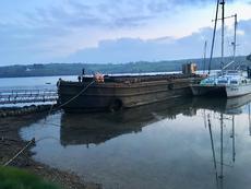 Dunston built Ex Royal Navy Cargo Barge